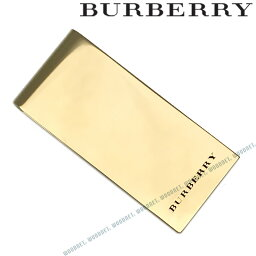 バーバリー マネークリップ BURBERRY マネークリップ バーバリー メンズ ライトゴールド 4075240-LIGHTGOLD ブランド