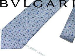 ブルガリ ネクタイ BVLGARI ブルガリ ネクタイ ライトブルー「YES SIR」 シルク241489-LIGHTBLUE ブランド/メンズ/男性用