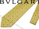ブルガリ ネクタイ 【送料無料】BVLGARI ブルガリ イエロー「YES SIR」 シルクネクタイ 241490-YELLOW ブランド/メンズ/男性用