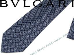 ブルガリ ネクタイ BVLGARI ブルガリ ネクタイ 241909 ダークブルー 「DIVA INCASTRO」 シルクネクタイ ブランド/メンズ/男性用