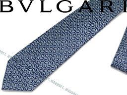 ブルガリ ネクタイ BVLGARI ブルガリ ネクタイ 242189 ブルー 「DIVA COMPASS」 シルクブランド ビジネス/メンズ/男性用