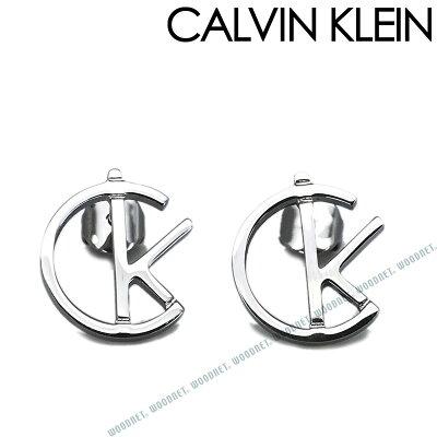 CALVIN KLEIN カルバンクライン レディース CKロゴ シルバー ピアス KJ6DME000200 ブランド