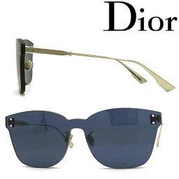 クリスチャンディオール Christian Dior サングラス UVカット クリスチャンディオール レディース ネイビー 縁無し DIORCOLORQUAKE2-PJP-KU ブランド