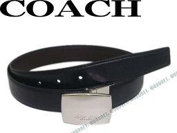 コーチ COACH コーチ ベルト リバーシブル レザーブラック×ブラウン 64095-AQ0 ブランド/メンズ/男性用