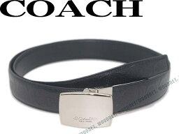コーチ COACH コーチ ベルト ブラック シグネチャーロゴ柄型押し リバーシブル レザー64772-BK-BK ブランド/メンズ/男性用