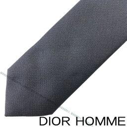 ディオール ネクタイ DIOR HOMME ネクタイ ディオールオム メンズ シルク ナロー ブルーマリン PIS1010-645541 ブランド ビジネス