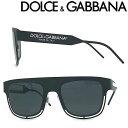 ドルチェ&ガッバーナ サングラス メンズ DOLCE&GABBANA サングラス ドルチェ&ガッバーナ メンズ&レディース UVカット ブラック 0DG-2232-1106-87 ブランド