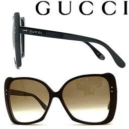 グッチ サングラス(レディース) GUCCI サングラス UVカット グッチ レディース ブラック グラデーションブラウン GUC-GG-0471S-001 ブランド