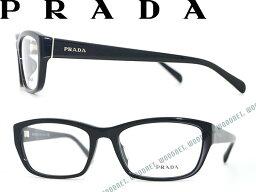 プラダ PRADA めがね ブラック プラダ メガネフレーム 眼鏡 PR-18OVA-1AB1O1 WN0054 ブランド/メンズ&レディース/男性用&女性用/度付き・伊達・老眼鏡・カラー・パソコン用PCメガネレンズ交換対応