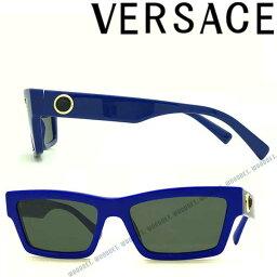 ヴェルサーチ VERSACE サングラス UVカット ヴェルサーチ ちょいワル ちょい悪 メンズ&レディース ブラック 0VE-4362-5294-87 ブランド