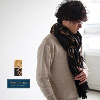 【ポイント最大40倍 11日1:59まで】[GS699] PENDLETON(ペンドルトン)Oversize Wool Scarf(オーバーサイズウールスカーフ/ストール)【メール便対応可・メール便送料無料】【送料・代引き手数料無料】ND