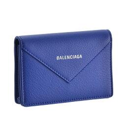 バレンシアガ バレンシアガ BALENCIAGA カードケース 【ペーパーシィンカード:PAPIER ZA THIN CARD】 499201 DLQ0N ブルー系(4130) 【skl】