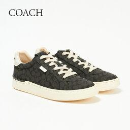 コーチ コーチ レディーススニーカー LOWLINE SIG LOW TOP G5037 ブラック(BLACK) COACH 【zkk】