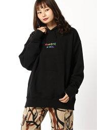 エックスガール [Rakuten Fashion]【SALE/50%OFF】XG MADE ME SWEAT HD X-girl エックスガール カットソー パーカー ブラック パープル【RBA_E】【送料無料】