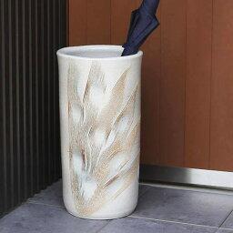 傘立て壷 【 10%OFF & ポイント5倍 】傘立て 陶器傘立て 信楽焼かさたて 和風傘立て 傘入れ 壷 しがらき カサタテ やきもの傘立て かさたて陶器 玄関 花器 花瓶 かさたて くし目彫り傘立て kt-0157