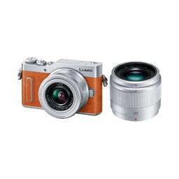 パナソニック パナソニック DC-GF10W-D デジタル一眼カメラ 「LUMIX DC-GF10」 ダブルレンズキット オレンジ