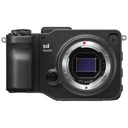 シグマ シグマ ミラーレス一眼カメラ 「SIGMA sd Quattro」ボディ