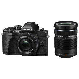 オリンパス オリンパス OM-D-EM10MK3WK-BK デジタル一眼カメラ 「OM-D E-M10 MarkIII」 ダブルズームキット ブラック