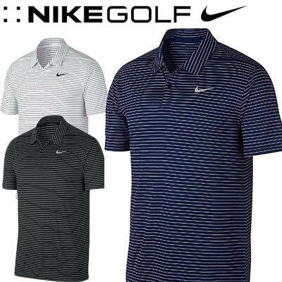 NIKE GOLF [ナイキ ゴルフ] DRI-FIT エッセンシャル ストライプ S/S ゴルフポロ AJ5483