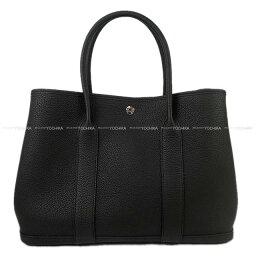 エルメス バッグ ガーデンパーティー(レディース) 【ご褒美に★】HERMES エルメス トートバッグ ガーデンパーティ 36 PM 黒(ブラック) ネゴンダ D刻印 新品 (HERMES Tote Bag Garden Party 36 PM Black(Noir) Veau Negonda [Brand New][Authentic])【あす楽対応】#よちか