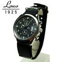 ロイド 腕時計(メンズ) ラコ LACO 腕時計 861917BK デトロイド Detroit 42mm クォーツクロノグラフ 国内正規品 パイロットウォッチ シリーズ