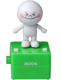 LINE ぬいぐるみ 【新品】 LINE Pop'nstep ポップンステップ  ムーン タカラトミーアーツ おもちゃ