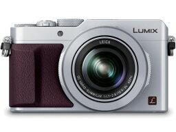 LUMIX 【ポイント5倍】パナソニック デジタルカメラ LUMIX DMC-LX100-S [シルバー] [画素数:1684万画素(総画素)/1280万画素(有効画素) 光学ズーム:3.1倍 撮影枚数:350枚 備考:おまかせiA/顔認識]