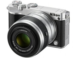 nikon 【ポイント5倍】ニコン デジタル一眼カメラ Nikon 1 J5 ダブルズームレンズキット [シルバー] [タイプ:ミラーレス 画素数:2081万画素(有効画素) 撮像素子:13.2mm×8.8mm/CMOS 連写撮影:60コマ/秒 重量:231g]