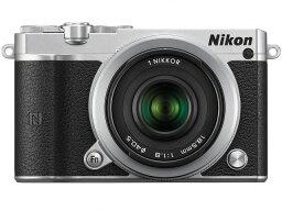 nikon ニコン デジタル一眼カメラ Nikon 1 J5 ダブルレンズキット [シルバー] [タイプ:ミラーレス 画素数:2081万画素(有効画素) 撮像素子:13.2mm×8.8mm/CMOS 連写撮影:60コマ/秒 重量:231g] 【楽天】【激安】 【格安】 【特価】 【人気】 【売れ筋】【価格】
