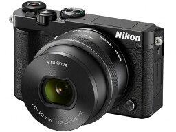 nikon 【ポイント5倍】ニコン デジタル一眼カメラ Nikon 1 J5 標準パワーズームレンズキット [ブラック] [タイプ:ミラーレス 画素数:2081万画素(有効画素) 撮像素子:13.2mm×8.8mm/CMOS 連写撮影:60コマ/秒 重量:231g]