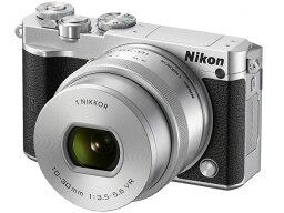 nikon 【ポイント5倍】ニコン デジタル一眼カメラ Nikon 1 J5 標準パワーズームレンズキット [シルバー] 【楽天】【激安】 【格安】 【特価】 【人気】 【売れ筋】【価格】