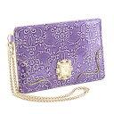 アナスイ 展示品箱なし アナスイ パスケース 定期入れ 紫 ANNA SUI 310495-90 レディース 婦人