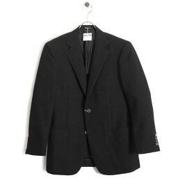 アクアスキュータム 展示品 アクアスキュータム ジャケット A6(Lサイズ相当) シングルジャケット Aquascutum 黒(ブラック) a9126131-99 メンズ 紳士