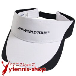 サンバイザー ATPワールドツアー オフィシャル商品 ラプター バイザー ホワイト/ネイビーブラック【あす楽】