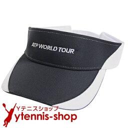 サンバイザー ATPワールドツアー オフィシャル商品 ラプター バイザー ネイビーブラック/ホワイト【あす楽】