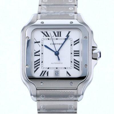 カルティエ CARTIER サントス ドゥ カルティエ LM WSSA0009 シルバー文字盤 メンズ 腕時計 【新品】