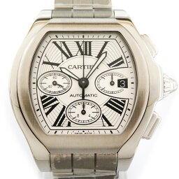 ロードスター 【ポイント5倍 4/1〜4/4 要エントリー】 カルティエ CARTIER ロードスター S クロノグラフ XL W6206019 シルバー文字盤 メンズ 腕時計 【新品】