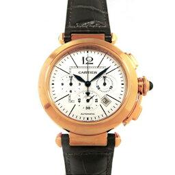 カルティエ パシャ 腕時計(メンズ) 【ポイント5倍 4/1〜4/4 要エントリー】 カルティエ CARTIER パシャ 42mm クロノグラフ W3019951 シルバー文字盤 メンズ 腕時計 【新品】