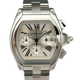 ロードスター カルティエ CARTIER ロードスター クロノグラフ W62019X6 シルバー文字盤 メンズ 腕時計 【新品】