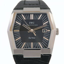 IWC ダ ヴィンチ 腕時計(メンズ) アイ・ダブリュ・シー IWC ダ・ヴィンチ IW546101 ブラック文字盤 メンズ 腕時計 【新品】