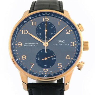 IWC IWC ポルトギーゼ クロノグラフ IW371482 グレー/ブラック文字盤 メンズ 腕時計 【新品】