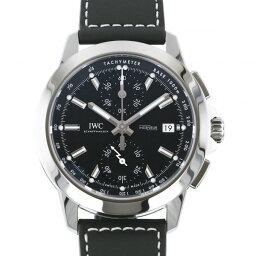 IWC インヂュニア 腕時計(メンズ) IWC IWC インヂュニア クロノグラフ スポーツ IW380901 ブラック文字盤 メンズ 腕時計 【新品】