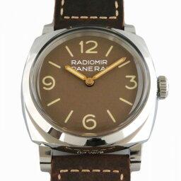 ラジオミール 腕時計(メンズ) パネライ PANERAI ラジオミール 1940 3デイズ アッチャイオ PAM00662 ブラウン文字盤 メンズ 腕時計 【新品】