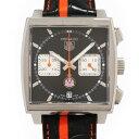 タグホイヤー モナコ 腕時計(メンズ) タグ・ホイヤー TAG HEUER モナコ クロノ キャリバー12 CAW211K.FC6311 ブラック文字盤 メンズ 腕時計 【新品】