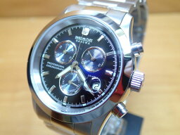 スイスミリタリー 腕時計(メンズ) スイスミリタリー 腕時計 エレガント・クロノ ML245 メンズ 安心の正規輸入品