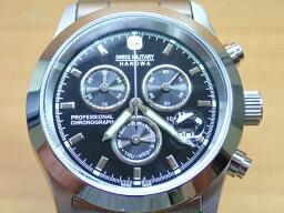 スイスミリタリー 腕時計(メンズ) スイスミリタリー 腕時計 エレガント・クロノ ML244 メンズ 【安心の正規輸入品】