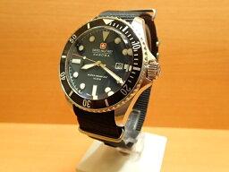 スイスミリタリー 腕時計(メンズ) スイスミリタリー 腕時計 NAVY ネイビー ML415 メンズ 正規輸入品