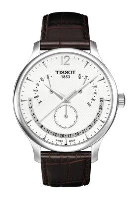 ティソ 腕時計 TISSOT TRADITION Perpetual Calender トラディション パーペチュアル カレンダー T0636371603700 メンズ 【正規輸入品】 分割払いもOKです 優美堂のTISSOT ティソ 腕時計は2年保証のついた正規代理店商品です