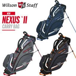 ウィルソン 【スマホエントリーでポイント最大47倍】ウイルソン WILSON STAFF NEXUS 2 CARRY BAG 9型 スタンド キャディバッグ 【ネクサス2】【ウィルソン スタッフ】【ゴルフバッグ】