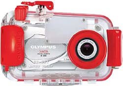 CAMEDIA オリンパス CAMEDIA X-350用 防水プロテクタ PT-021 【送料無料(沖縄県を除く)】
